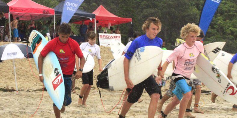 Intercâmbio cultural agita o Student Surfing Festival na Gold Coast
