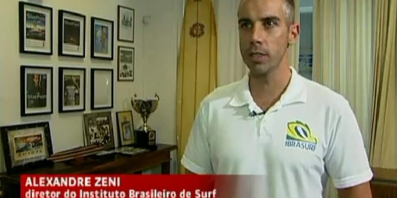 Alexandre Zeni (Ibrasurf) no Jornal da Globo News