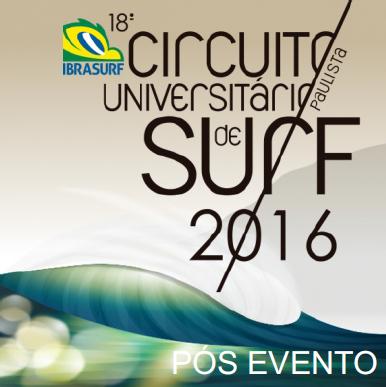 18o Circuito Paulista Universitário de Surf 2016