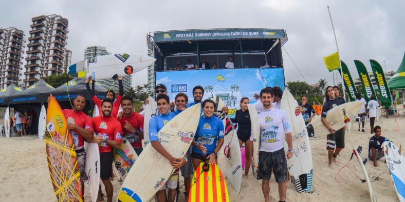 Rio 40 graus: tudo o que rolou no Carioca Universitário de Surf 2015