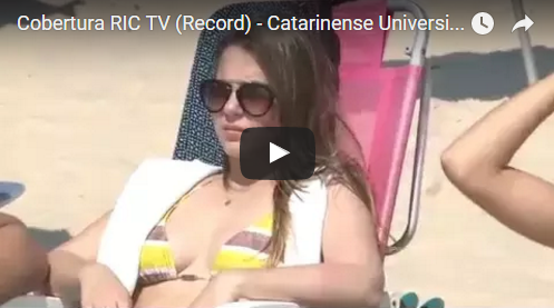 Cobertura RIC TV (Record) – Catarinense Universitário de Surf 2015