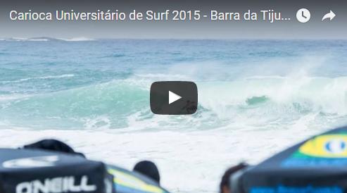 Video: Carioca Universitário de Surf 2015