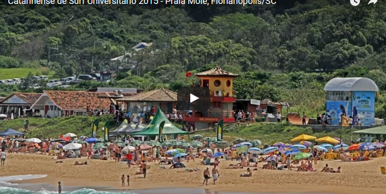 VÍDEO: Catarinense Universitário de Surf Universitário 2015