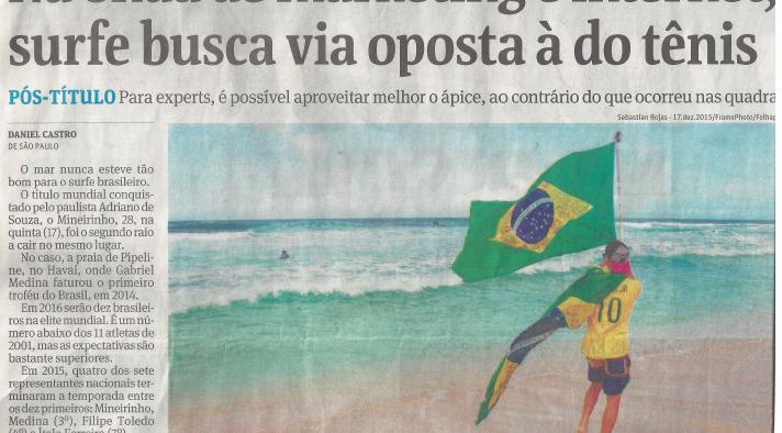 Folha de S. Paulo – Entrevista Ale Zeni