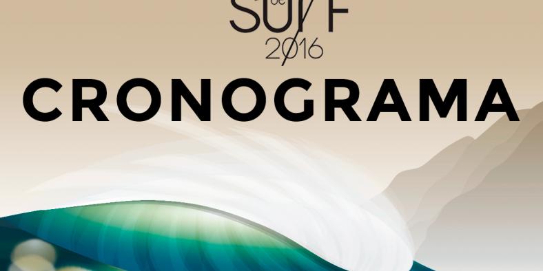 Cronograma e Baterias – 2ª ETAPA 18º Circuito Universitário de Surf