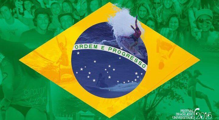 É o Brasil em Maresias: Festival Brasileiro Universitário de Surf