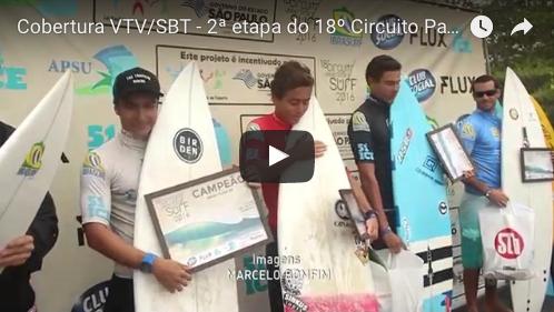 Cobertura VTV/SBT – 2ª etapa do 18º Circuito Paulista Universitário de Surf