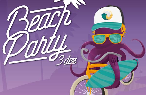 Vem aí: Beach Party!