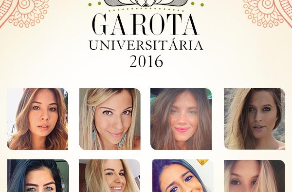Conheça as 08 mais belas do Garota Universitária 2016