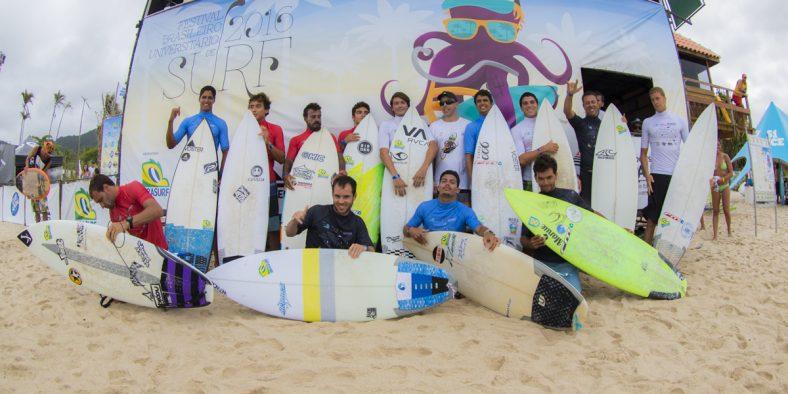 Surf sem fronteiras: Festival Brasileiro Universitário de Surf 2016