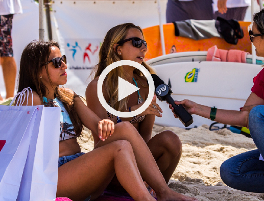 Cobertura SBT/VTV – Festival Brasileiro Universitário de Surf 2016