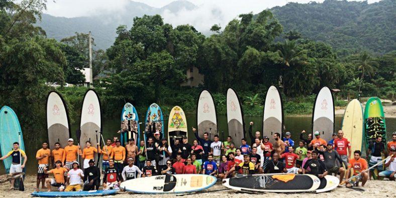 STAND UP PADDLE – SUP, o esporte aquático que mais cresce no Brasil
