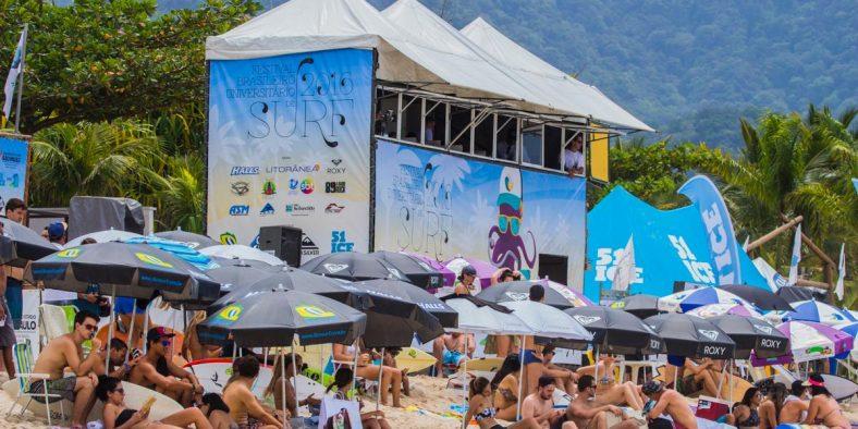 Inscrições abertas para o Festival Brasileiro Universitário de Surf 2017