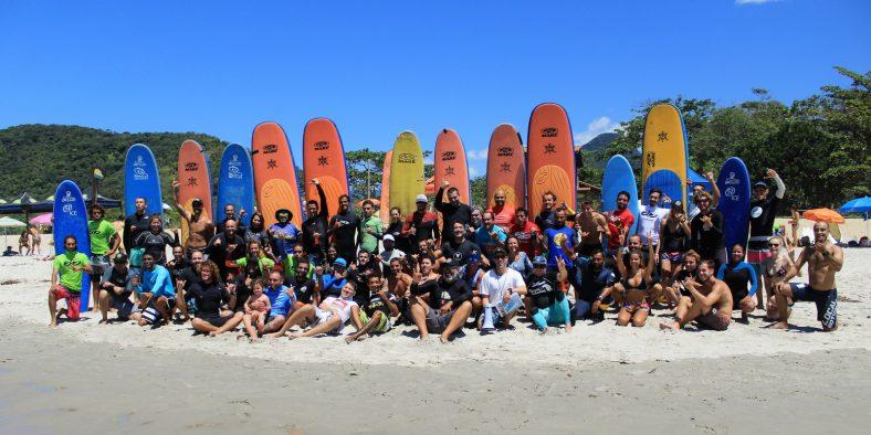 Ibrasurf realiza o 19º Curso de Instrutores de Surf e SUP