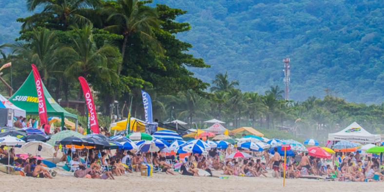 Estudantes de todo o país se preparam para o Brasileiro Universitário de Surf