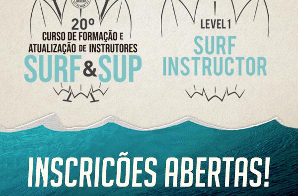 20º CURSO DE INSTRUTORES DE SURF E SUP