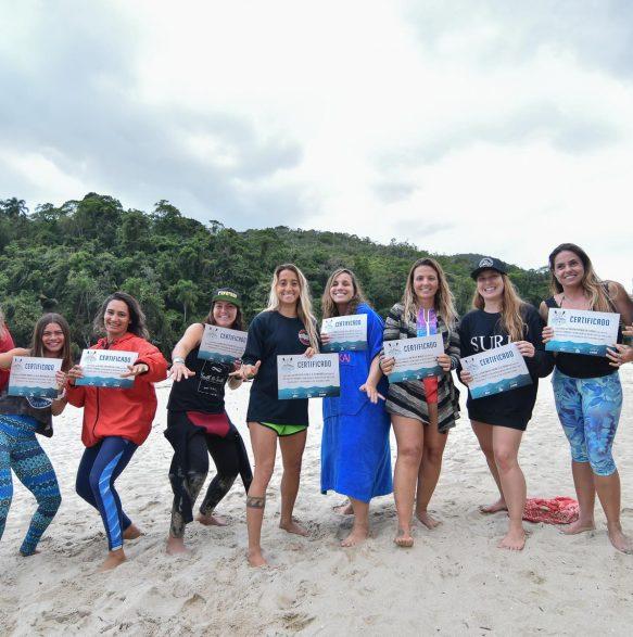 Girls Only - 20o Curso de Instrutores de SURF e SUP - Foto Henrique Tricca