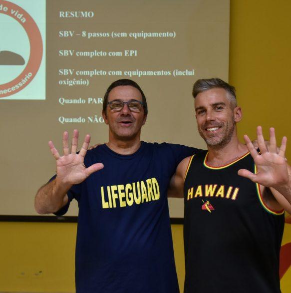 Dr. David Szpilman e Ale Zeni - Foto: Henrique Tricca