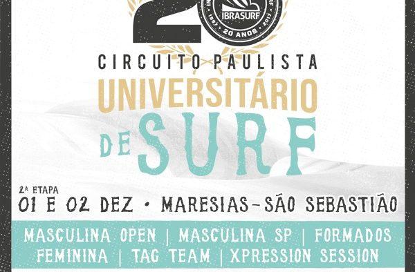 Circuito Paulista Universitário de Surf tem decisão histórica em Maresias