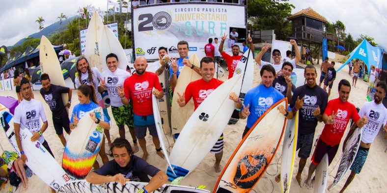 Pedro Tanaka e Stephanie Frumento faturam o  Brasileiro Universitário de Surf em Maresias
