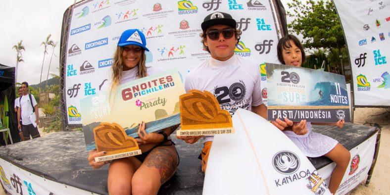 Festival Brasileiro Universitário de Surf agita final de semana em Maresias