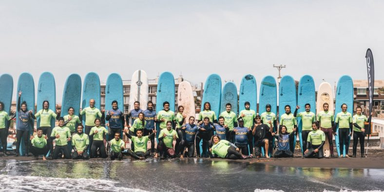 Ibrasurf realiza o 1o Curso de Instructor de Surf no Chile
