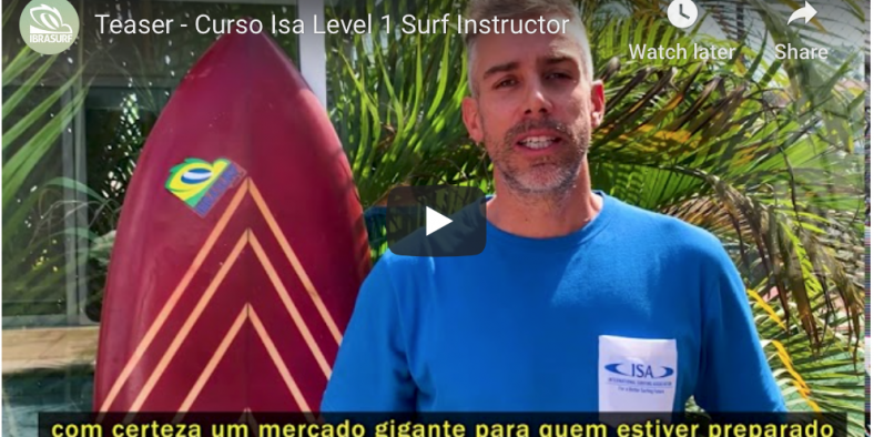 Vídeo Teaser – CURSO ISA LEVEL 1 SURF INSTRUCTOR
